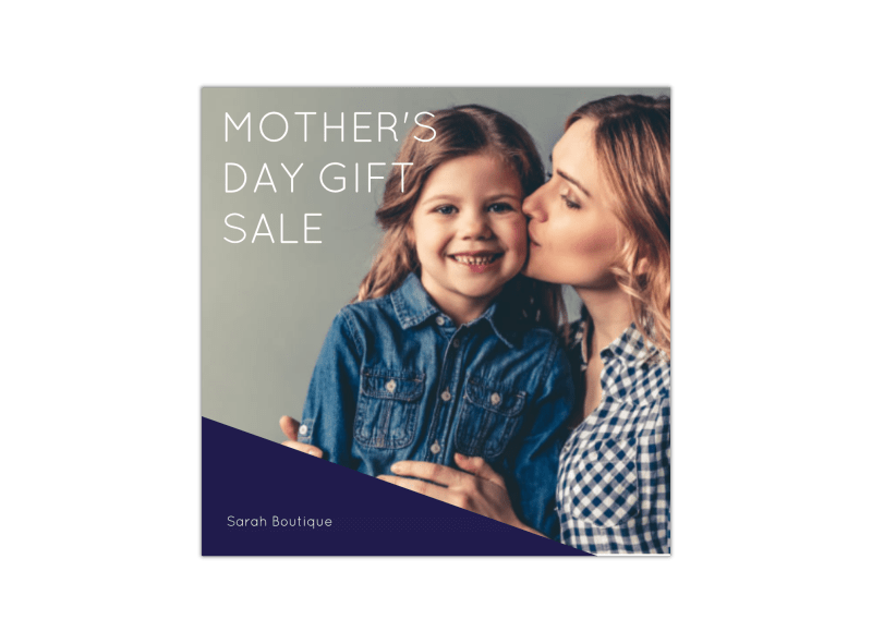 Mother's Day Gift Sale Instagram Post Template