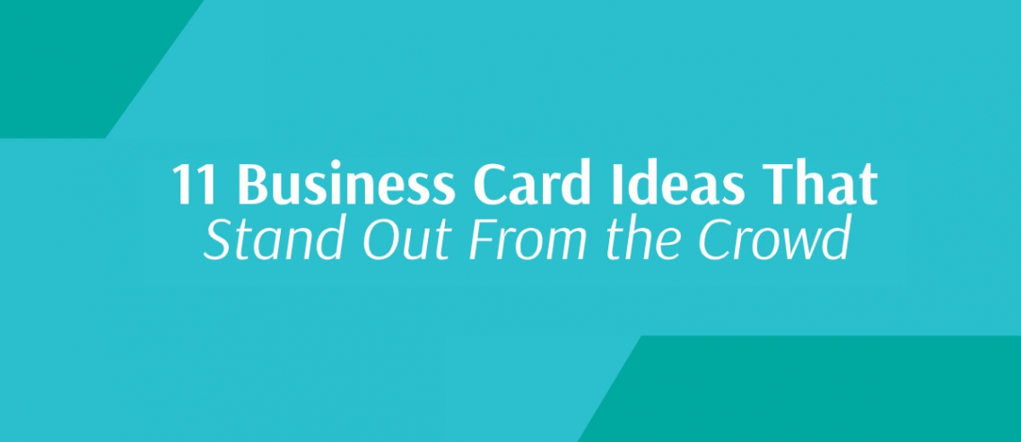 Standout Business Cards Title