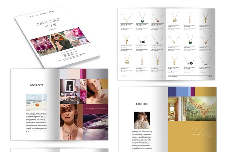 Wholesale Catalog Template by AIW Solutions - Creative Market