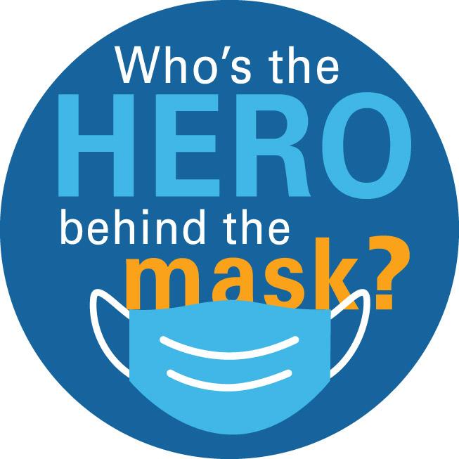Hero Behind the Mask Graphic