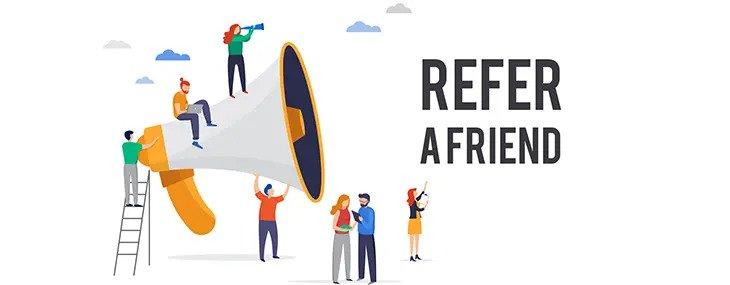 Refer A Friend Graphic