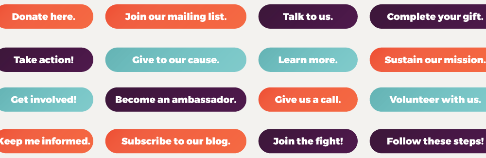 Nonprofit Call to Action Examples Image