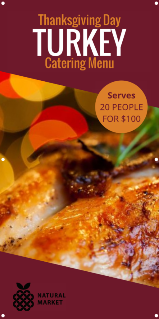 Thanksgiving Catering Banner Image