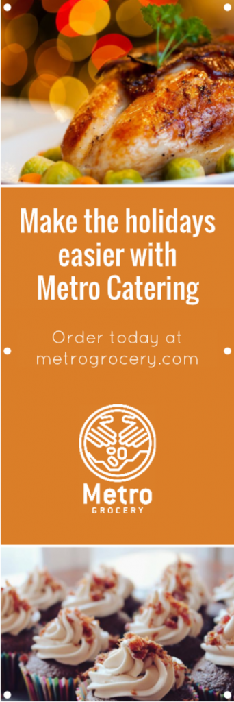 Thanksgiving Catering Promo Banner Image