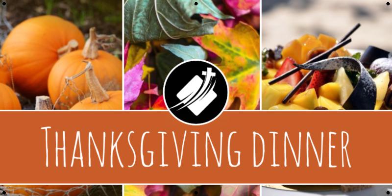 Thanksgiving Dinner Banner Image
