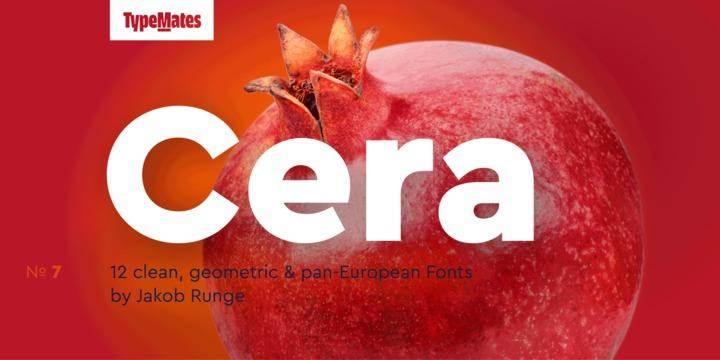 Cera Font