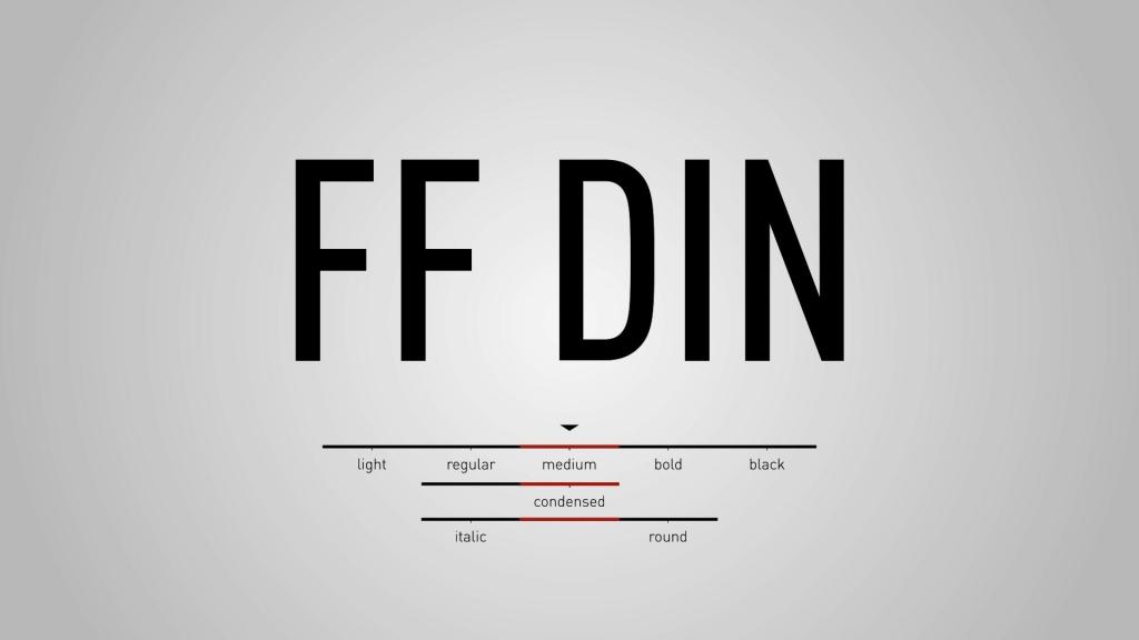 FF DIN Font