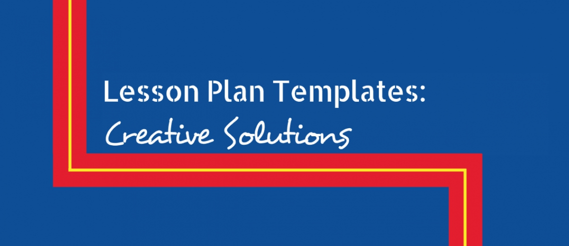 Lesson Plan Templates Creative Solutions Title Graphic