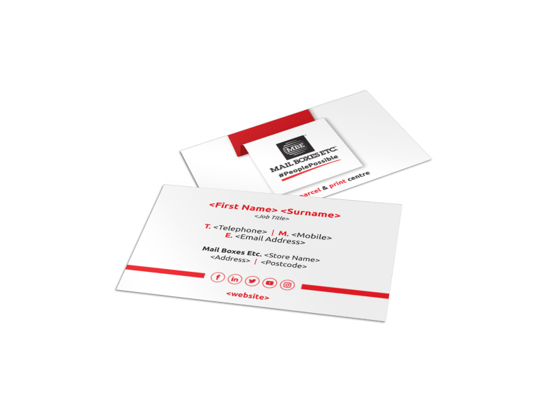 Mailbox Business Card - UK